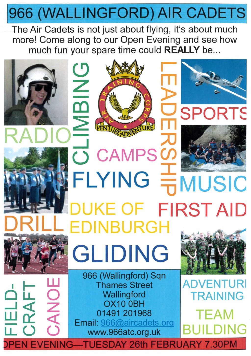 966 (Wallingford) Air Cadets Open Evening